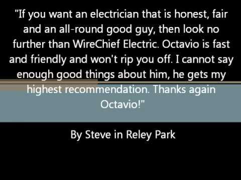 WireChief Electric's Testimonials