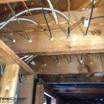 Before: Knob & Tube Wiring