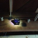 Before: Old Door Bell Transformer with K & T wiring