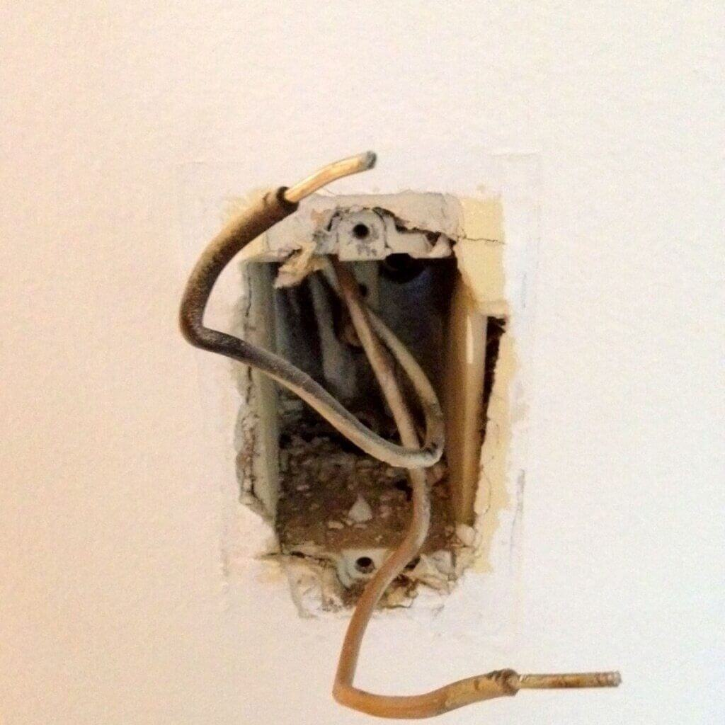aluminum wiring outlet