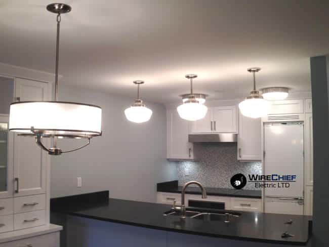 Vancouver Kitchen Lighting