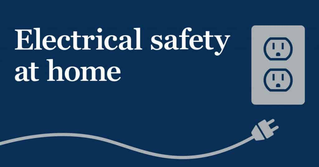 home electrical safety tips