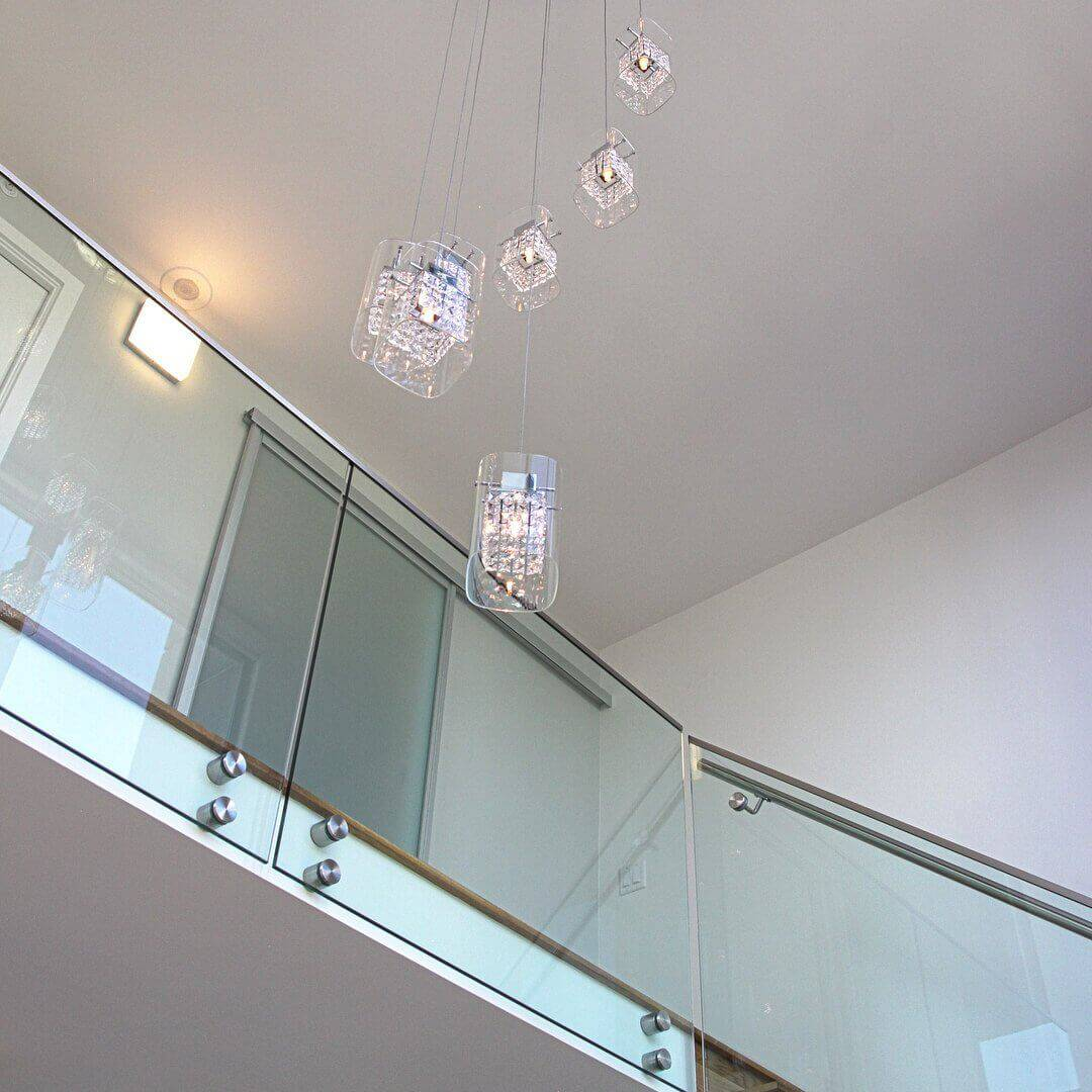 high ceiling light installation vancouver