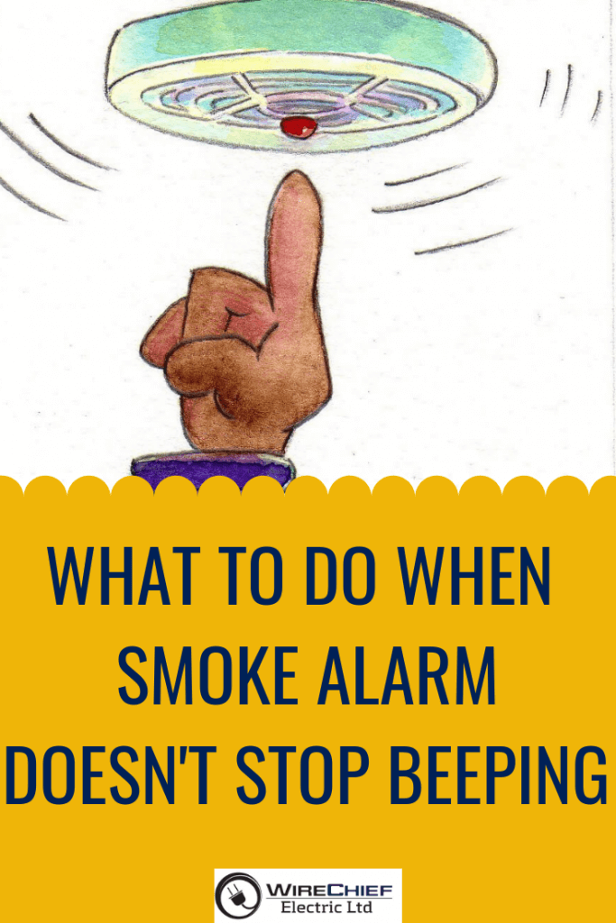 What To Do When Smoke Alarm Keeps Beeping