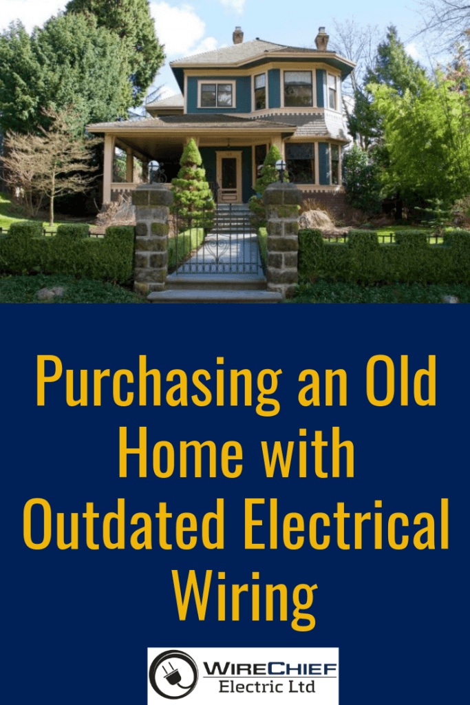 purchasing-old-home-outdated electrical- wiring