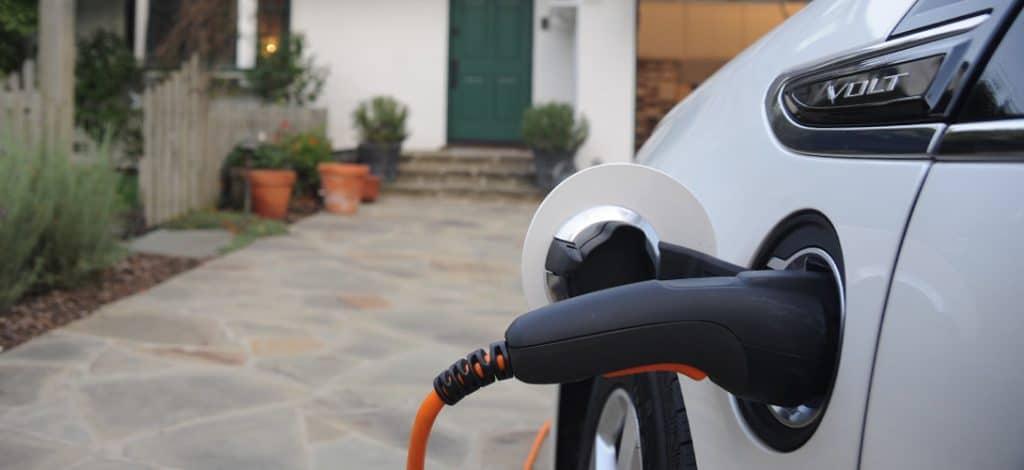 charging EV at home