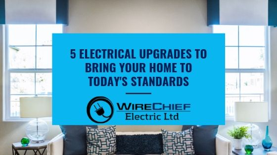 5 Electrical Upgrades to Bring Your Home to Today's Standards