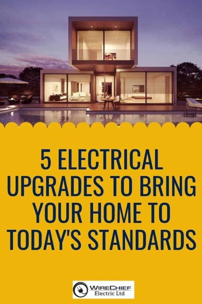 5 Electrical Upgrades to Bring Your Home Up to Code