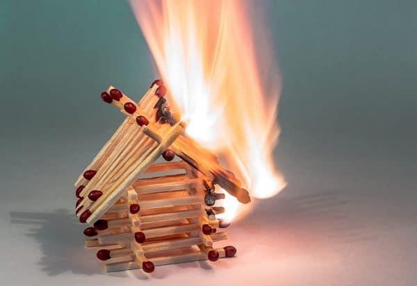 home fire hazard