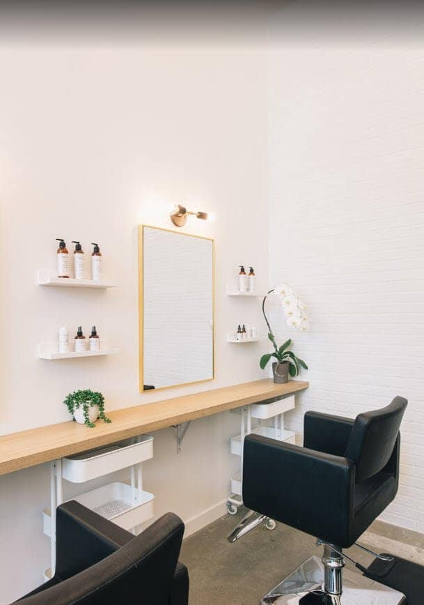 hair salon tenant improvement electrician vancouver