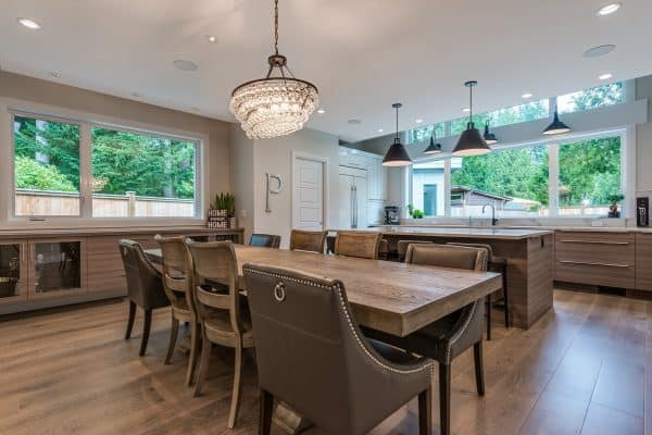 Custom Home New Build North Vancouver - Vancouver Electrician Contractor - Kitchen new construction - WireChief Electric
