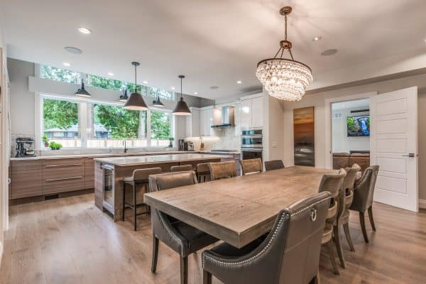 Custom Home New Build North Vancouver - Vancouver Electrician Contractor - New kitchen wiring - WireChief Electric