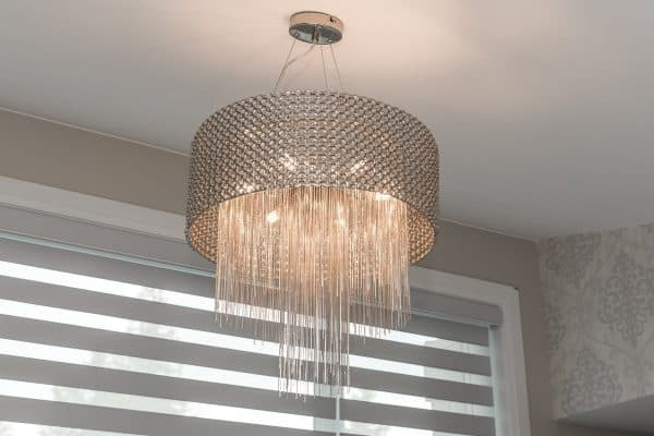 Custom Home New Build North Vancouver - Vancouver Electrician Contractor - chandelier installation