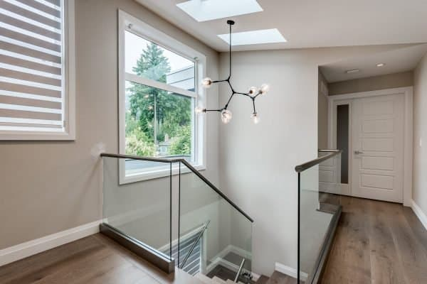 Custom Home New Build North Vancouver - Vancouver Electrician Contractor - lighting installation - new build