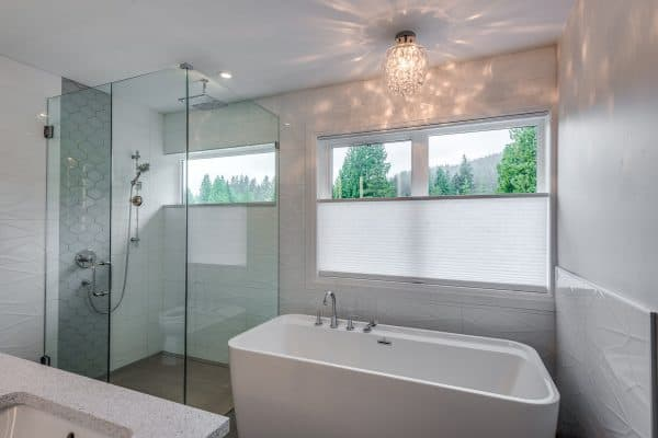 Custom Home New Build North Vancouver - Vancouver Electrician Contractor - bathroom wiring electrical