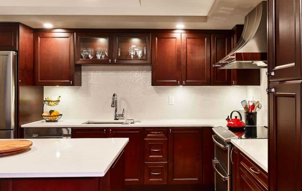 vancouver electrician kitchen condo renovation