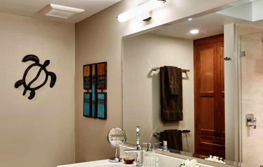 bathroom renovation coal harbour downtown vancouver electrician work