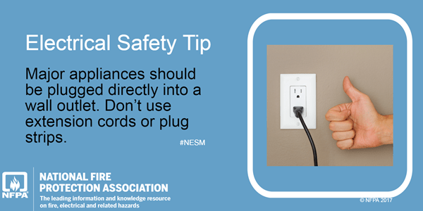 electrical safety at home