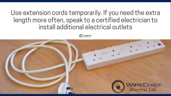 Electrical cord and electrical plug safety